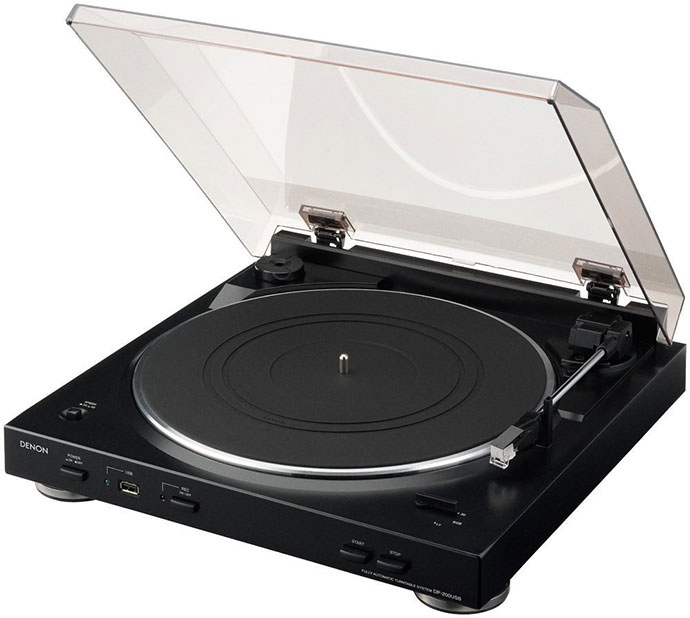 Denon DP-200USB Review – USB Turntable with MP3 Encoder