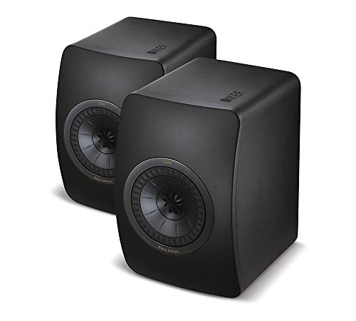 KEF LS50 Mini Monitor - Black Edition (Pair)