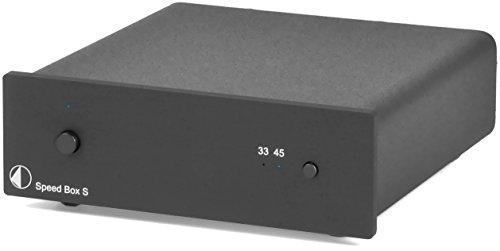 Pro-Ject Speed Box S Phono Speed Regulator, Black