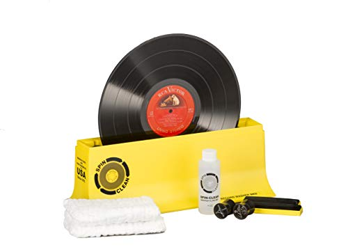 Record Washer System by Spin-Clean | Deep Groove Record Cleaning Helps in Reducing Pops and Crackles | Album Cleaner May Fix Skips That Have Lingered for Years | Proudly Made in The USA