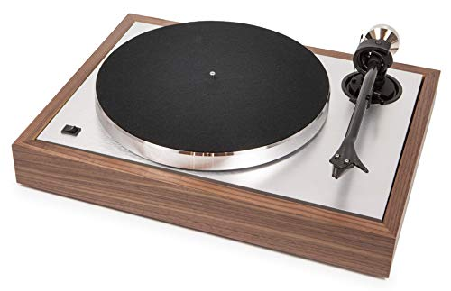 Pro-Ject The Classic Sub-Chassis Turntable with 9' Carbon/Aluminum Sandwich Tonearm, Walnut