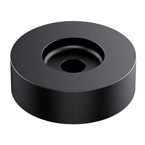 45 RPM Adapter for 7 inch Vinyl Record, Manufactured from Aluminum for Stability and Durability, for All Turntables