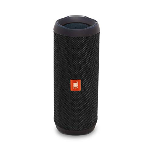 JBL Flip 4 Waterproof Portable Bluetooth Speaker - Black, Medium (JBLFLIP4BK)
