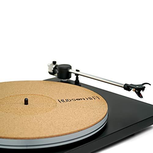 CoRkErY Recessed Turntable Platter Mat – Audiophile Anti-Static Slipmat – 1-8' Recessed