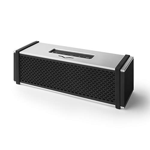 V-MODA REMIX Bluetooth Hi-Fi Metal Mobile Speaker - Silver