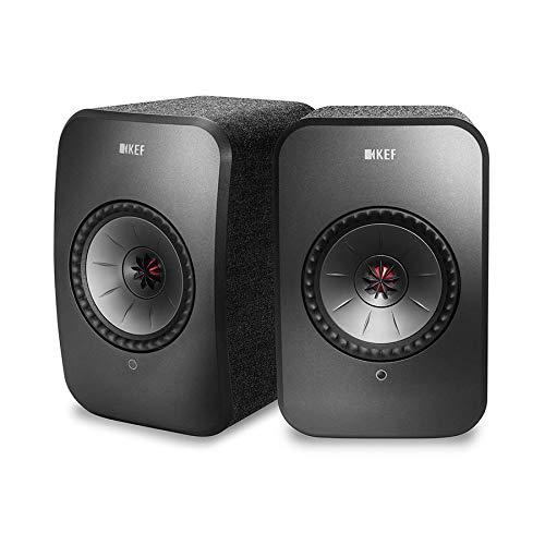 KEF LSX Wireless Music System (Black, Pair)
