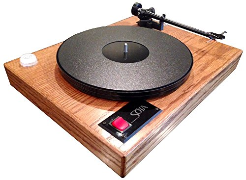 SOTA COMET Turntable with REGA S-303 tonearm-Genuine Dark Oak finish-Made in USA!