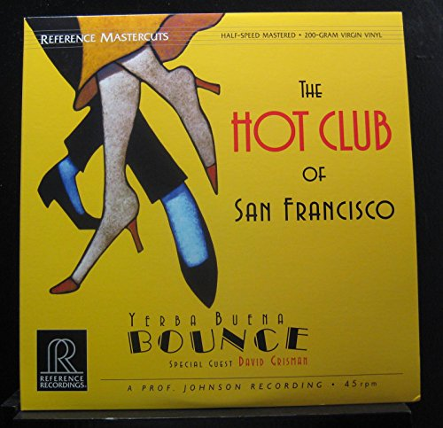 The Hot Club Of San Francisco Special Guest David Grisman - Yerba Buena Bounce - Lp Vinyl Record