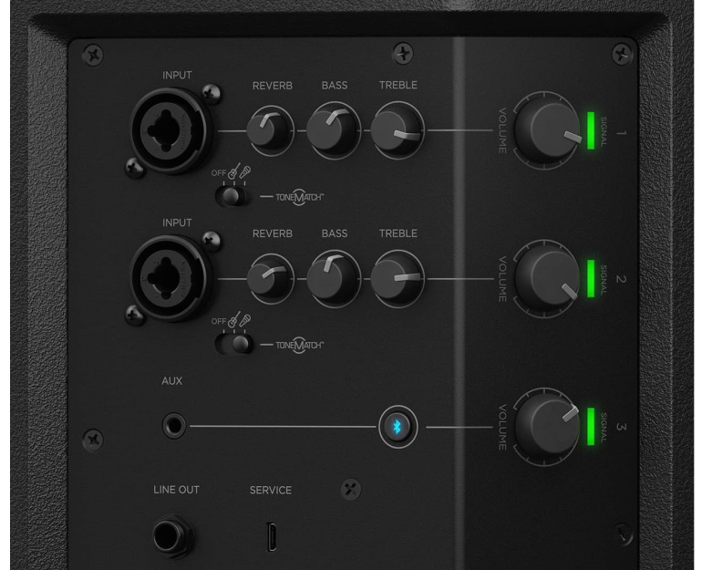 bose-s1-pro-mixer-controls