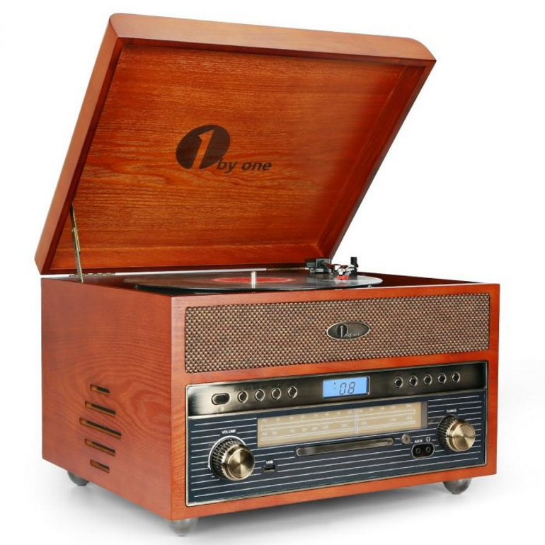 1byone-nostalgic-wooden-turntable-review
